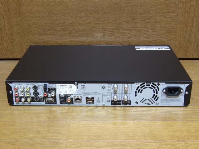 SHARP シャープ ブルーレイレコーダー BD-HDW55 中古 動作品_画像3
