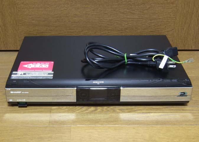 SHARP シャープ ブルーレイレコーダー BD-HDW55 中古 動作品_画像2