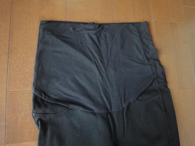 無印良品 マタニティーウエア マタニティMサイズ 妊婦服 パンツ ボトムス スキニーパンツ ストレッチパンツ 黒色
