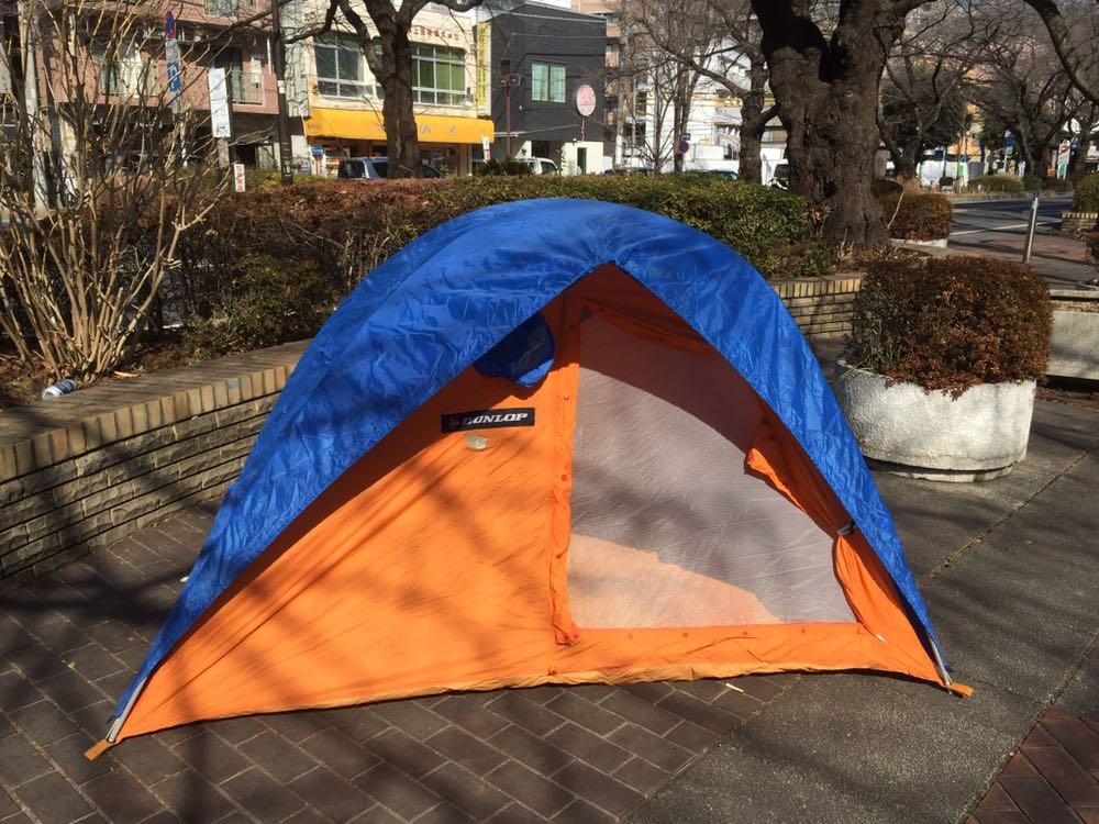 DUNLOP ダンロップ 山岳3人用テント OTM-3301_画像4