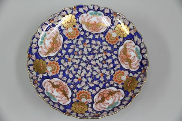 ◆有田焼 大皿【足付き】新品・未使用品◆
