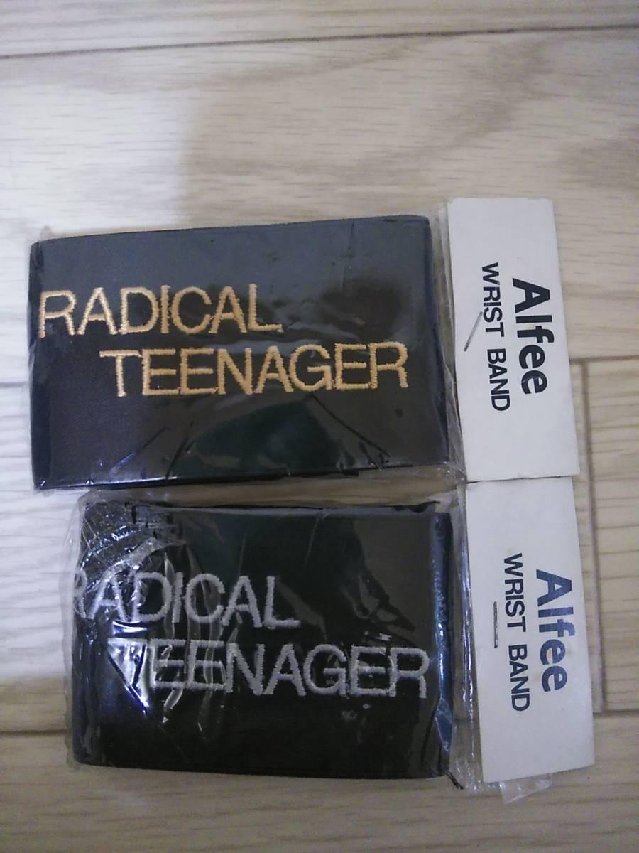 THE ALFEE【RADICAL TEENAGER】リストバンド