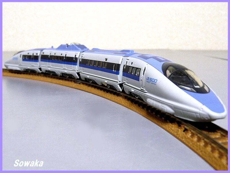 ●Nゲージ Bトレ★新幹線500系のぞみ4両編成N化済★Bトレインショーティー◎