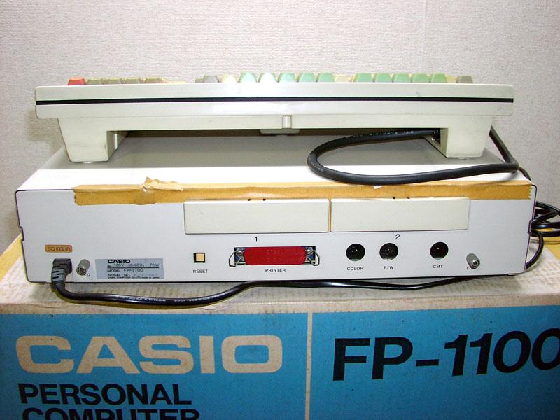 動作品 CASIO カシオ FP-1100 購入時箱、マニュアル付_画像3