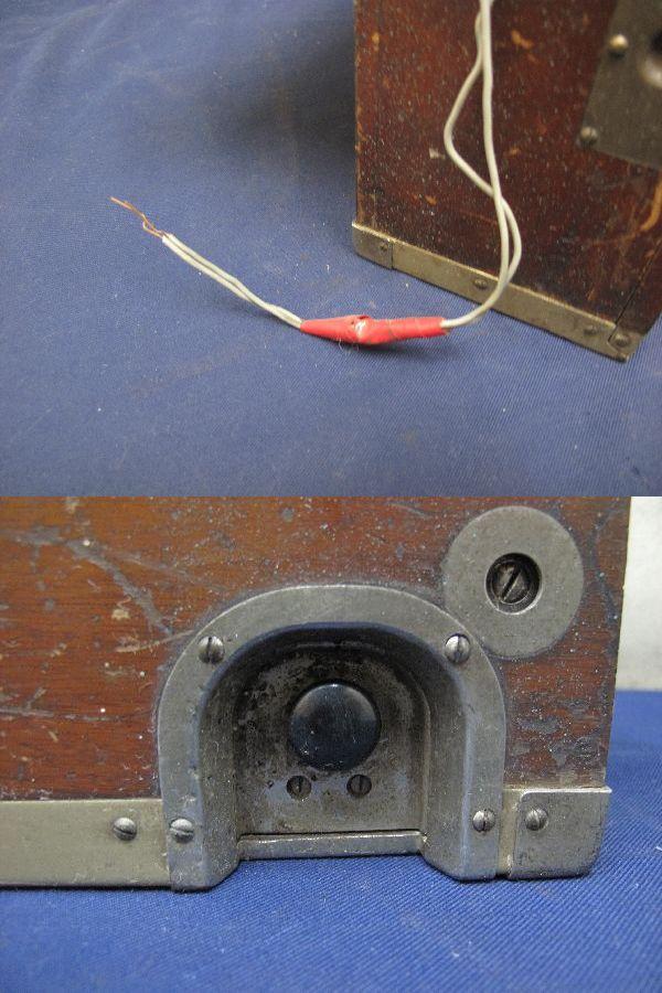 九二式電話機(214)日本陸軍野戦用電話機 沖電気 昭和17年5月 レトロ 軍隊_画像10