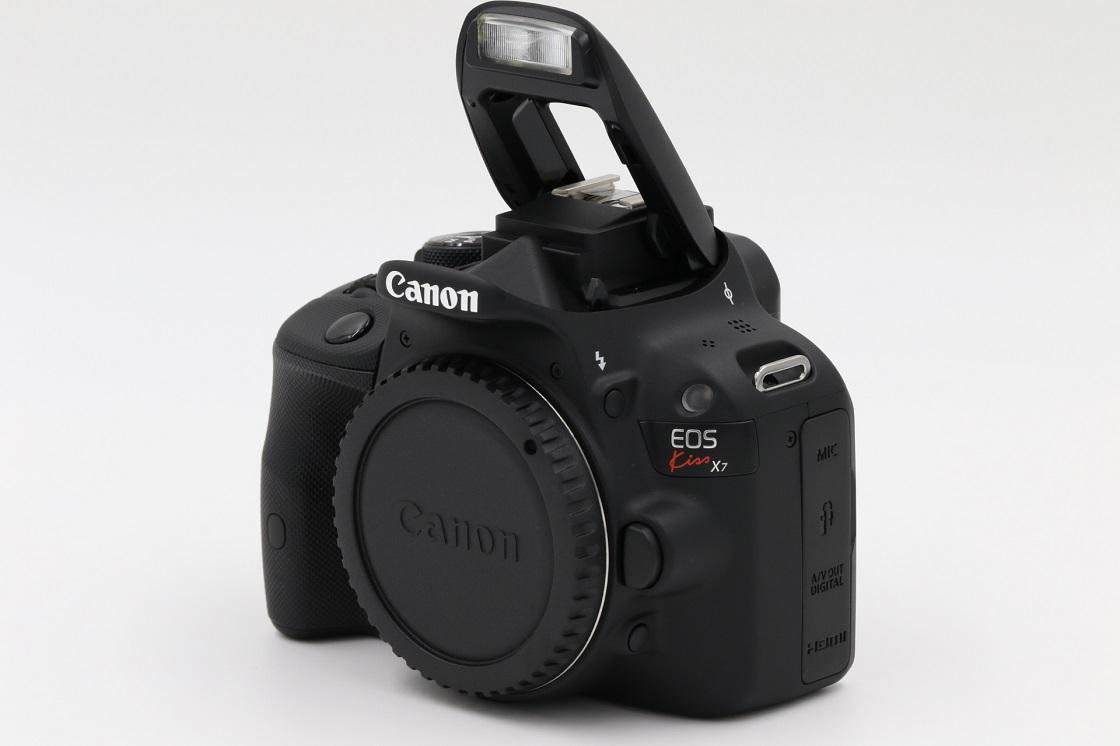 Canon キヤノン EOS Kiss X7 シャッター回数313回 新品同様 元箱 付属品あり おまけ付き 1円~売り切り!