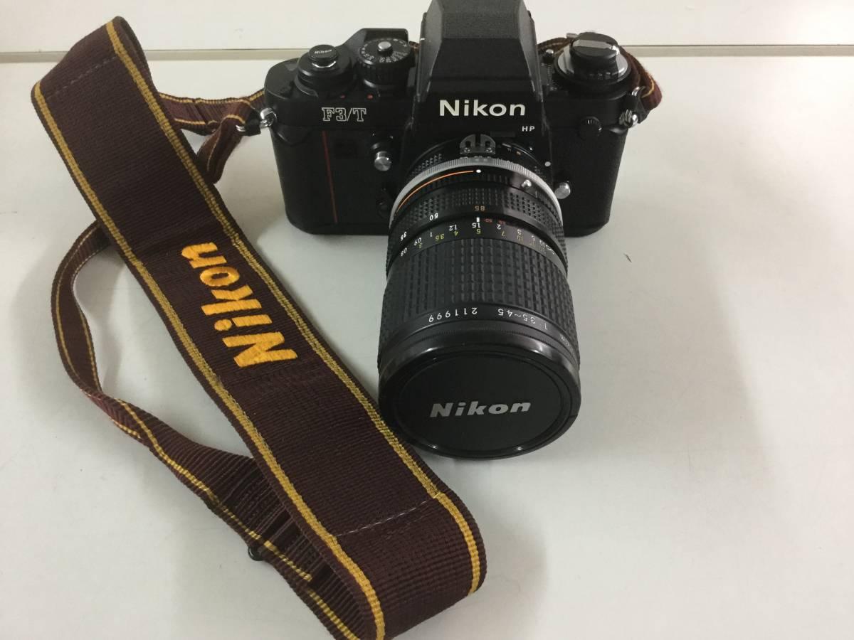 ジャンク Nikon F3/T HP ボディ 一眼 フィルム カメラ 売切りです。