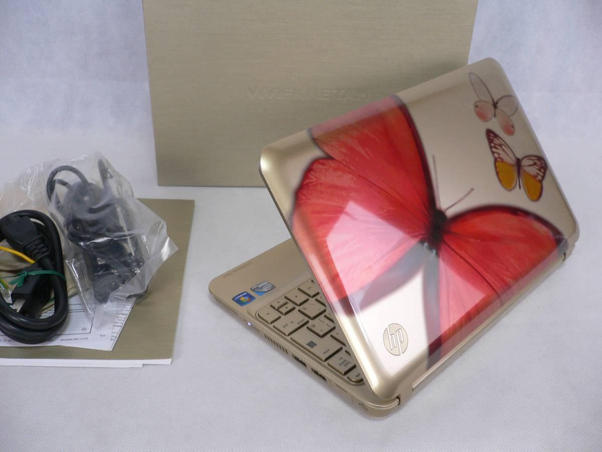 ラスト【極超美】10.1WSVGA(1024×600) HP Mini 210 Vivienne Tam(ヴィヴィアン・タム)Edition Win7/Office2013ProPlus/250GB/ HPQuickWeb