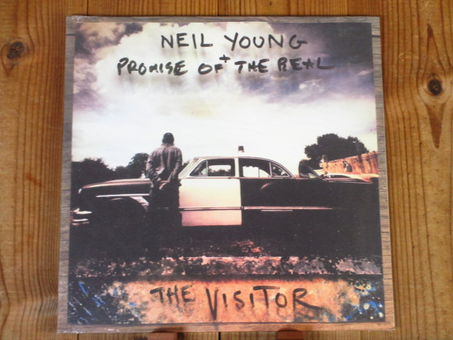 Neil Young ニールヤング + Promise Of The Real / The Visitor / Reprise / US盤 / 2LP / 未開封新品_画像1