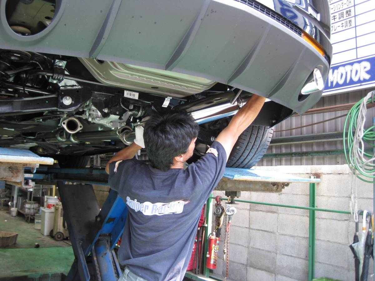 新品】SNIPER RACINGマフラー2010~13年NEWカマロ用新基準適合マフラー排気量6.2L【株式会社JQRj事前認証マフラーです】_画像7