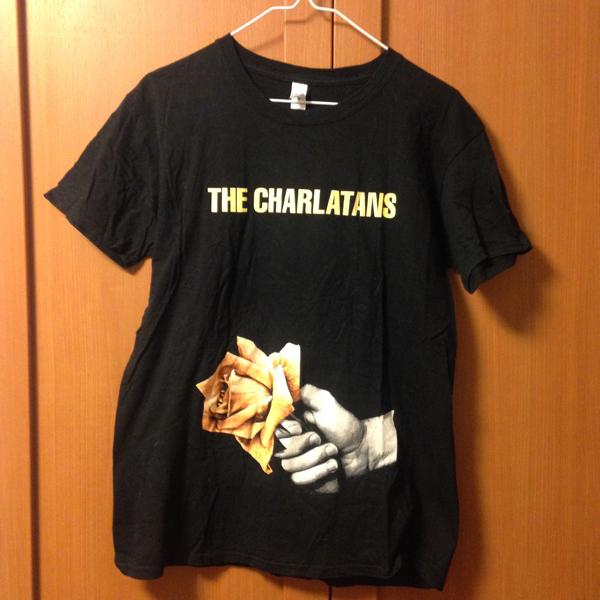 (古着, バンT)THE CHARLATANS 2013年 サイズ表記: M