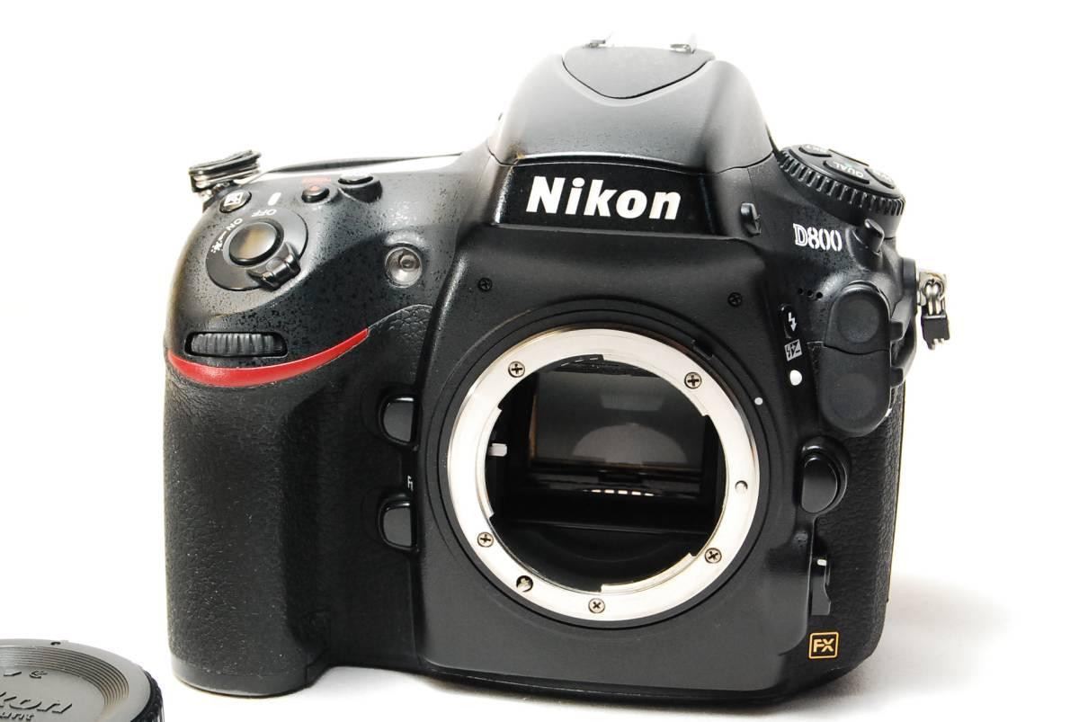 良品★ニコン NIKON D800 ボディ★2206_外観はまずまずのコンディション!