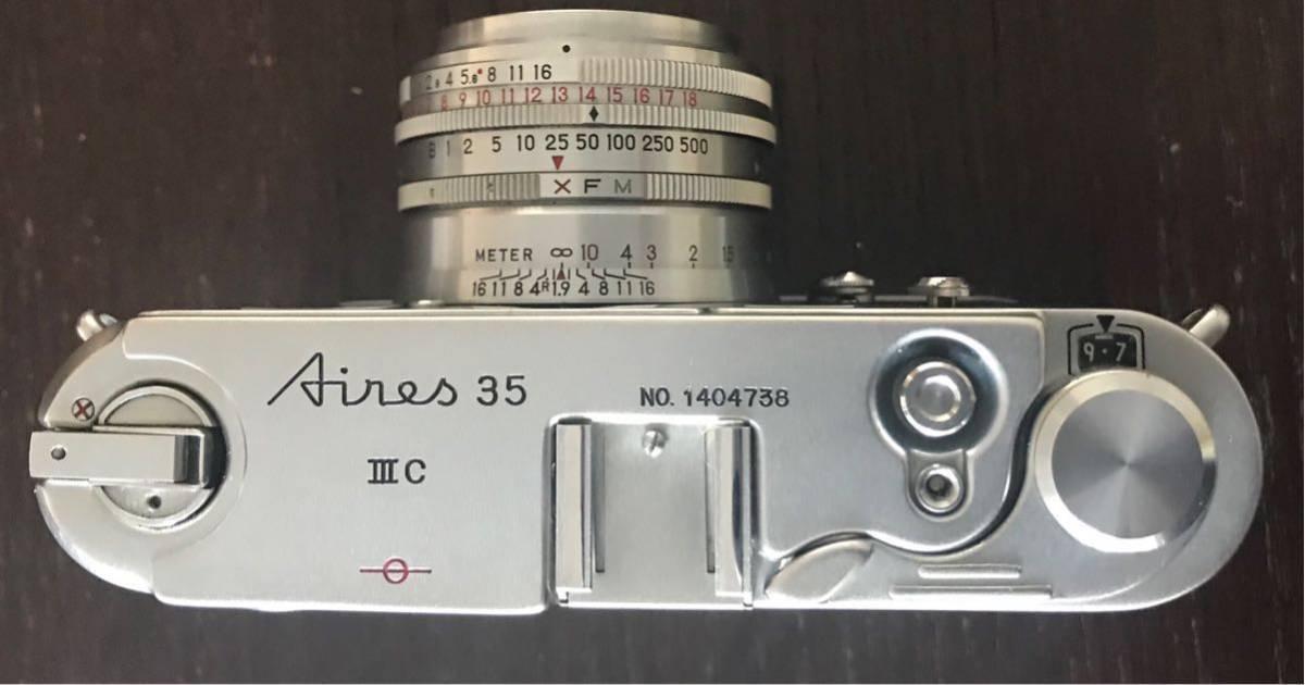 アイレス35 IIIC Aires 35 III C 簡単なオーバーホールしました_画像2