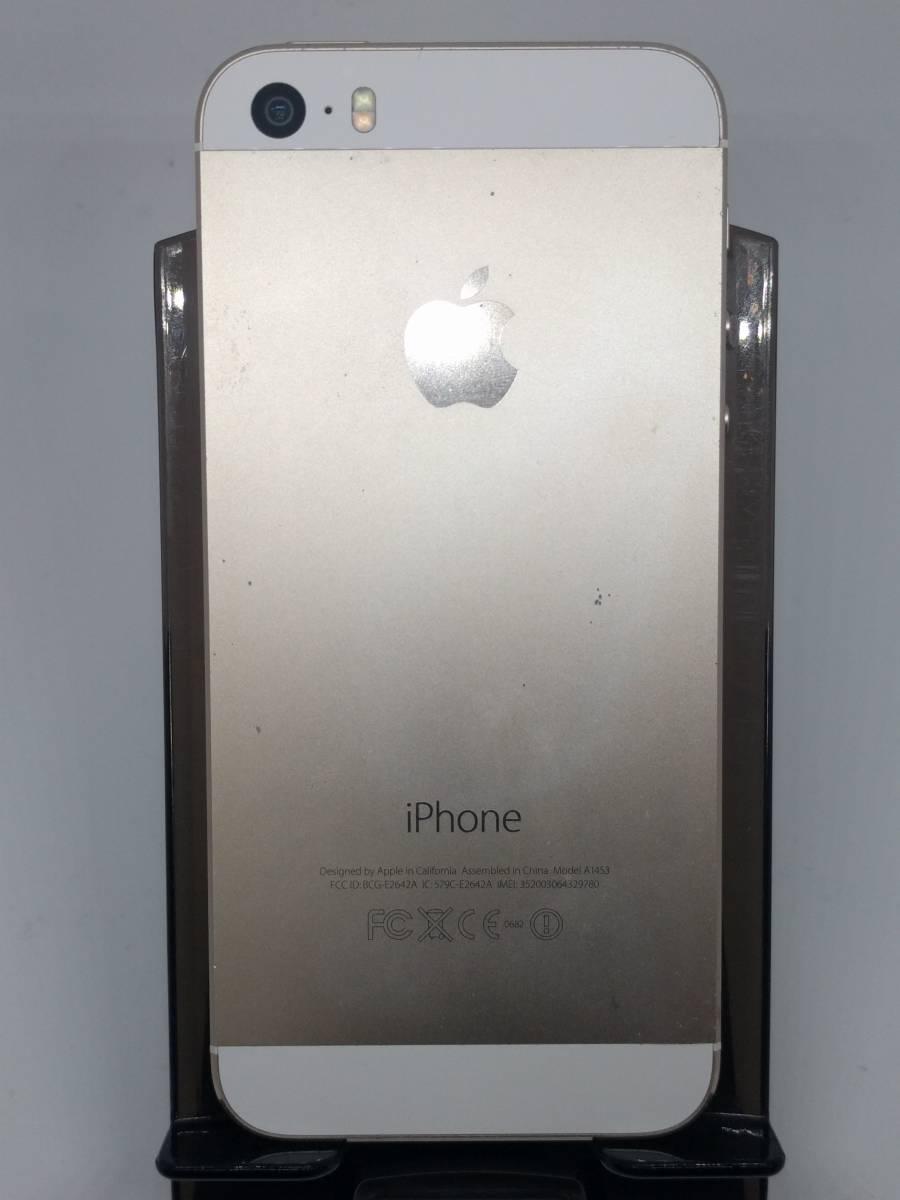 ☆バッテリー交換済み★ iPhon5s 16GB White / 通信 / 〇_画像7