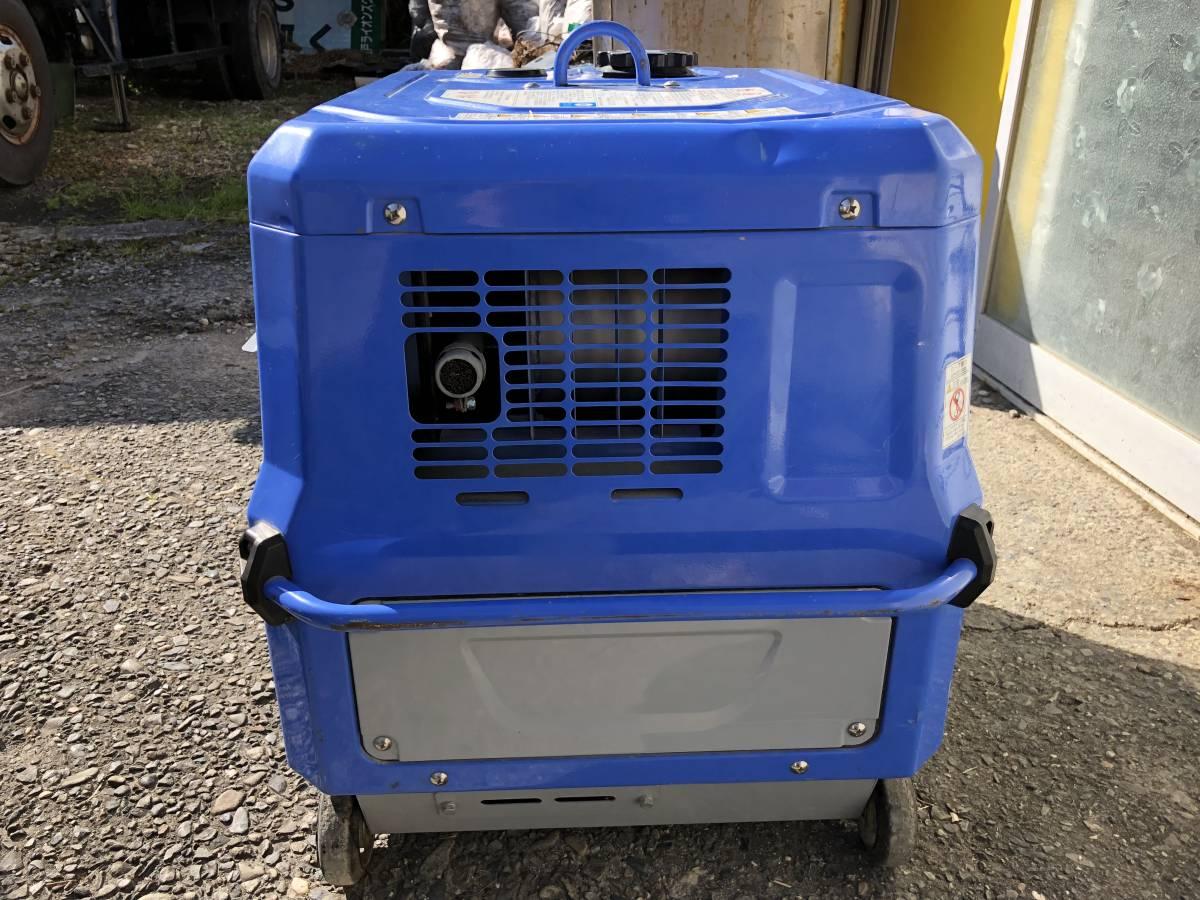 デンヨー 溶接機 GAW-185ES2 ウエルダー 2.0~4.0mm 防音型 インバータ発電機  積算時間161h_画像4