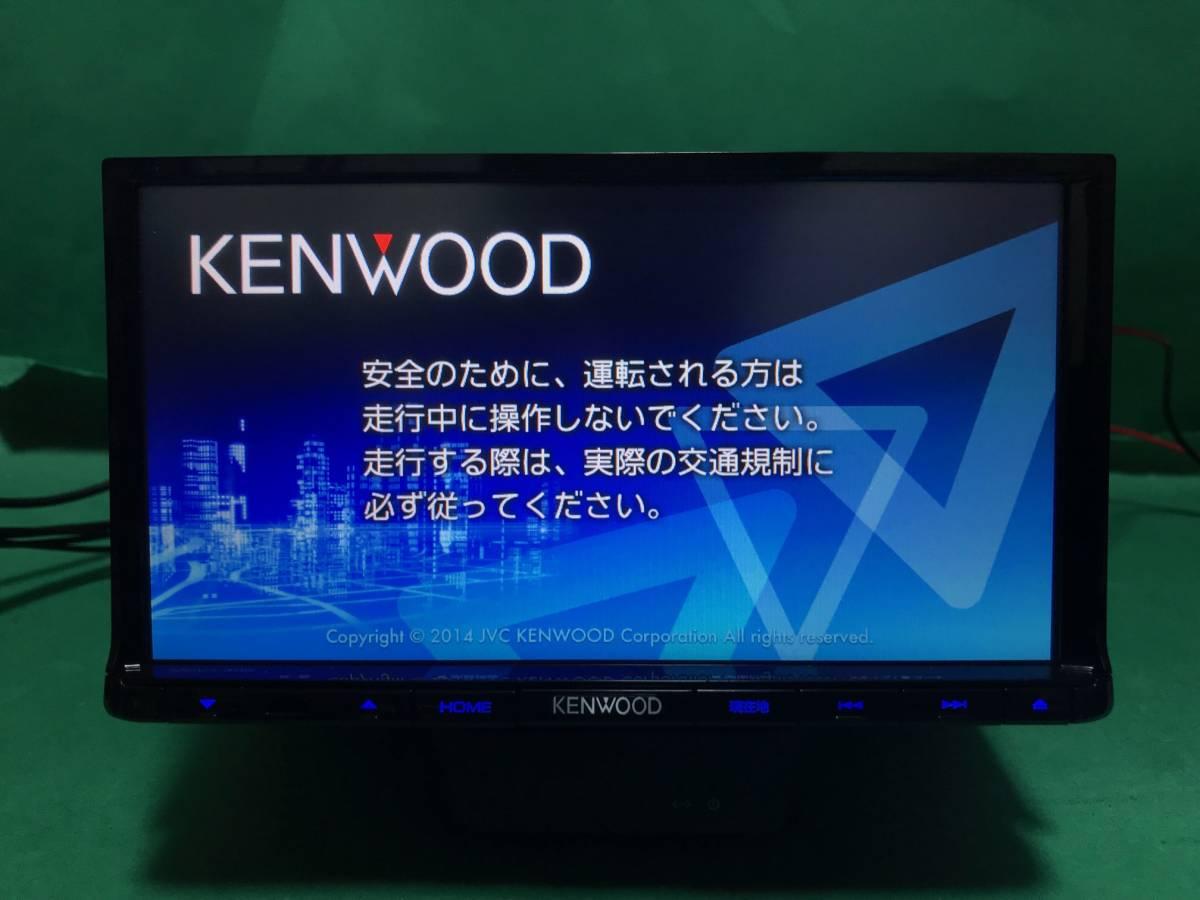 【KENWOOD】MDV-L402 走行中視聴改造済 2015年製 彩速ナビ 新品フィルムアンテナ GPSアン