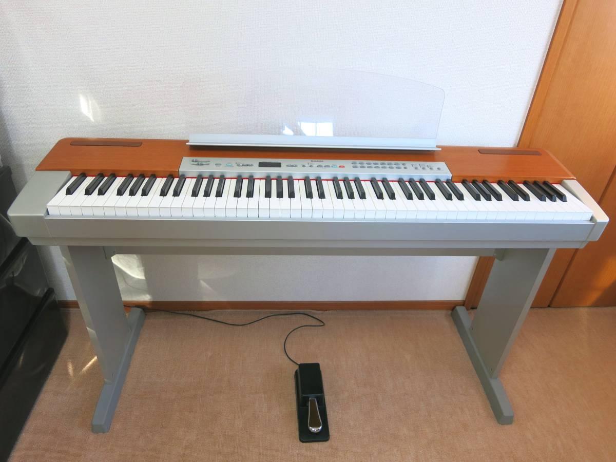 ★送料無料★YAMAHA ヤマハ P-120S 電子ピアノ【美品!】専用スタンド付。2005年製