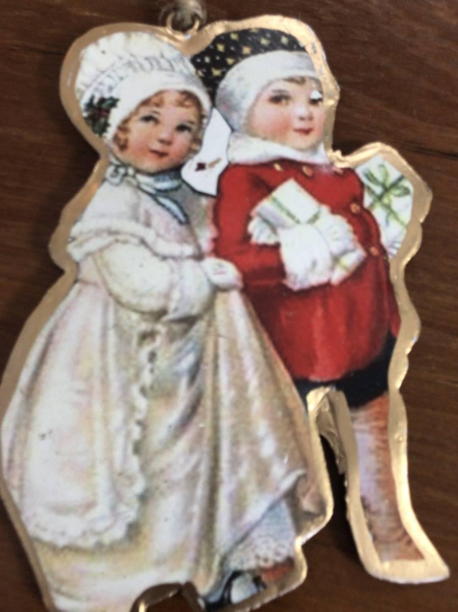 ベルギー購入★クリスマスオーナメント①★dolfin チョコレート2枚セット_画像4