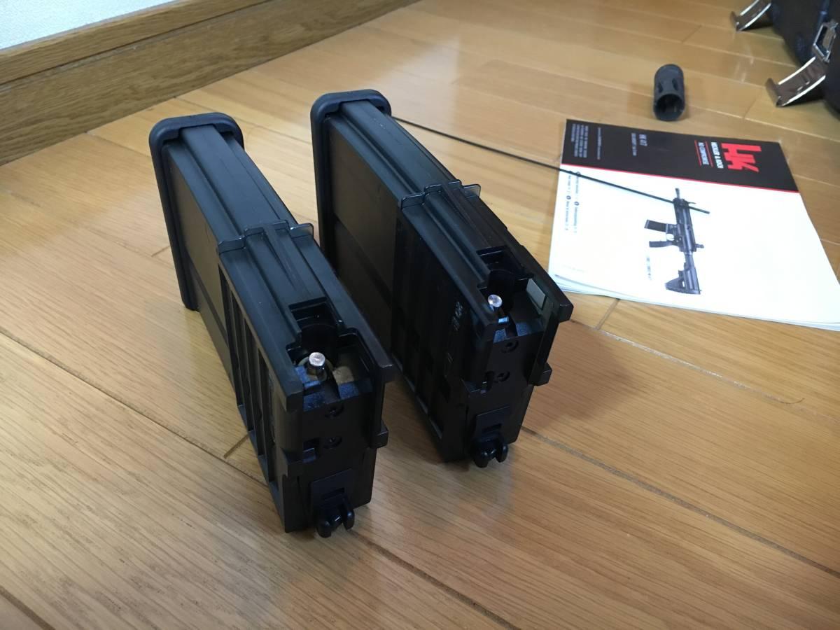 美品 VFC HK 417 ベンガジ 12 インチ スナイパーライフル カスタム 豪華付属品多数 HK 416 m4 ak mk17_画像6