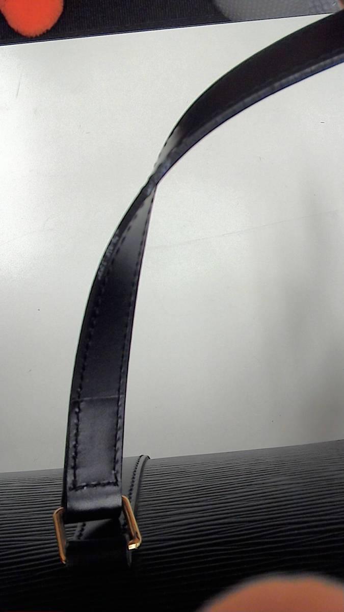 LOUIS VUITTON ルイヴィトン エピ スフロ MI0975 ノワール 黒 ハンドバッグ【03】_画像8