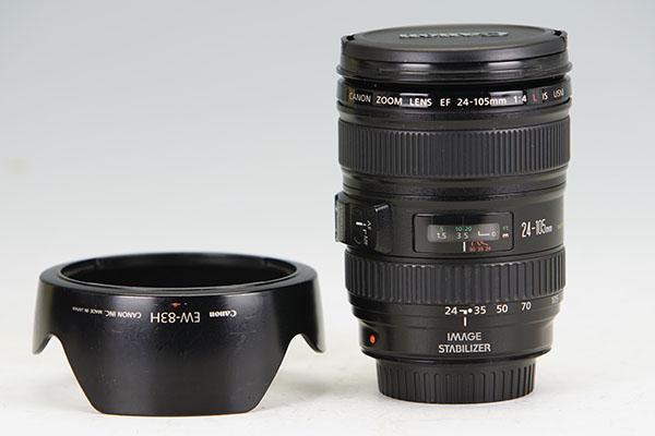 Canon キヤノン EF24-105mm F4L IS USM 【中古良品】