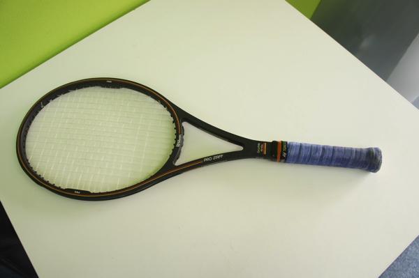 【中古品】 Wilson ウィルソン テニスラケット PRO STAFF プロスタッフ MIDSIZE Graphite kevlar 4 3/8(L3) ケース付き_画像4