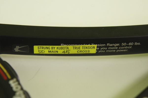 【中古品】 Wilson ウィルソン テニスラケット PRO STAFF プロスタッフ MIDSIZE Graphite kevlar 4 3/8(L3) ケース付き_画像10