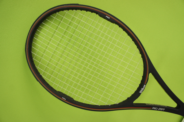 【中古品】 Wilson ウィルソン テニスラケット PRO STAFF プロスタッフ MIDSIZE Graphite kevlar 4 3/8(L3) ケース付き_画像6
