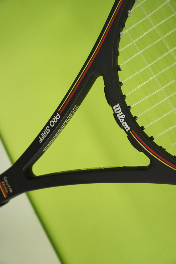 【中古品】 Wilson ウィルソン テニスラケット PRO STAFF プロスタッフ MIDSIZE Graphite kevlar 4 3/8(L3) ケース付き_画像7