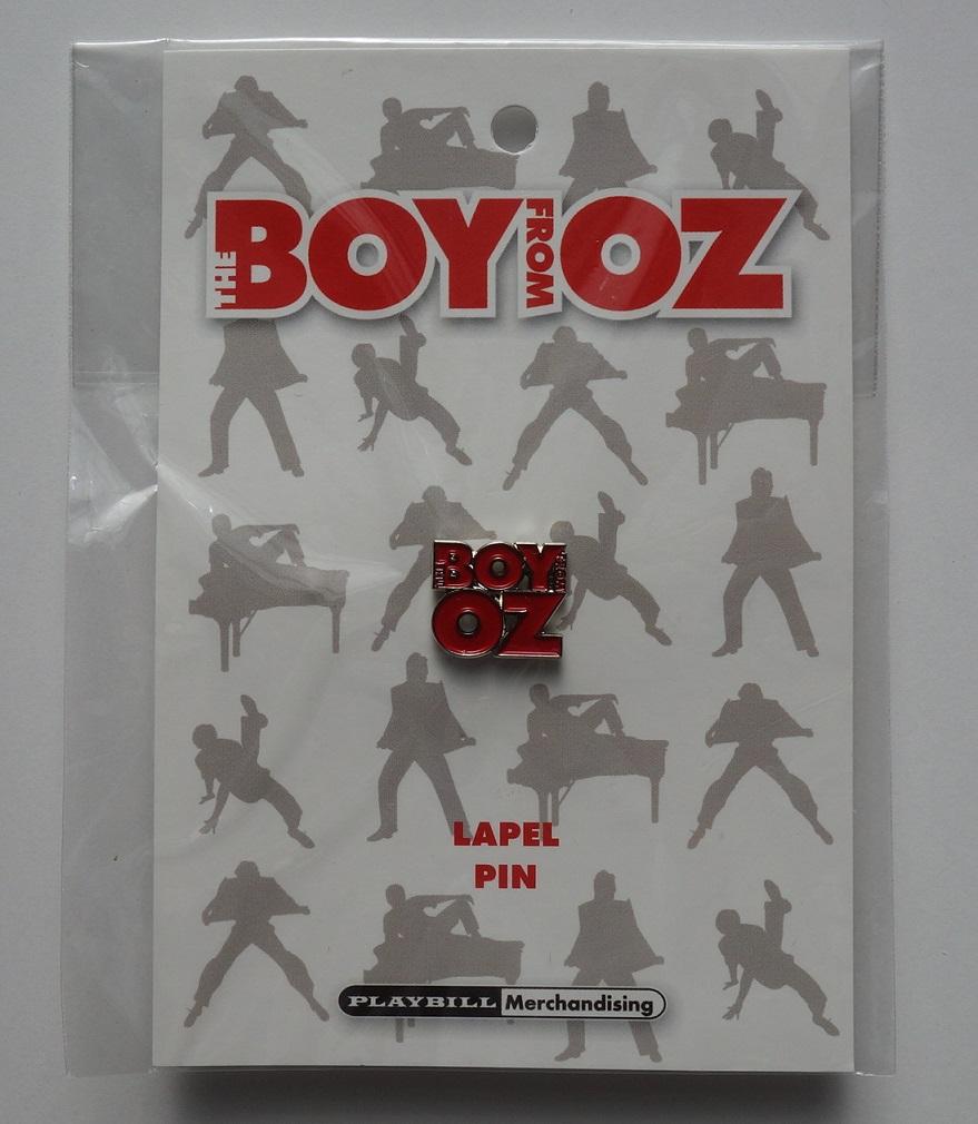 ヒュー・ジャックマン The Boy From OZ  オーストラリア公演 ピンバッジ  ボーイ・フロム・オズ