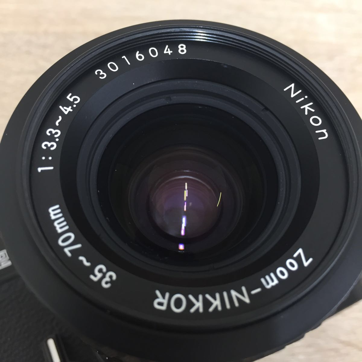 カメラ ④ Nikon ニコン FM2 N 8757411 Zoom-NIKKOR 35-70mm 1:3.3-4.5_画像2
