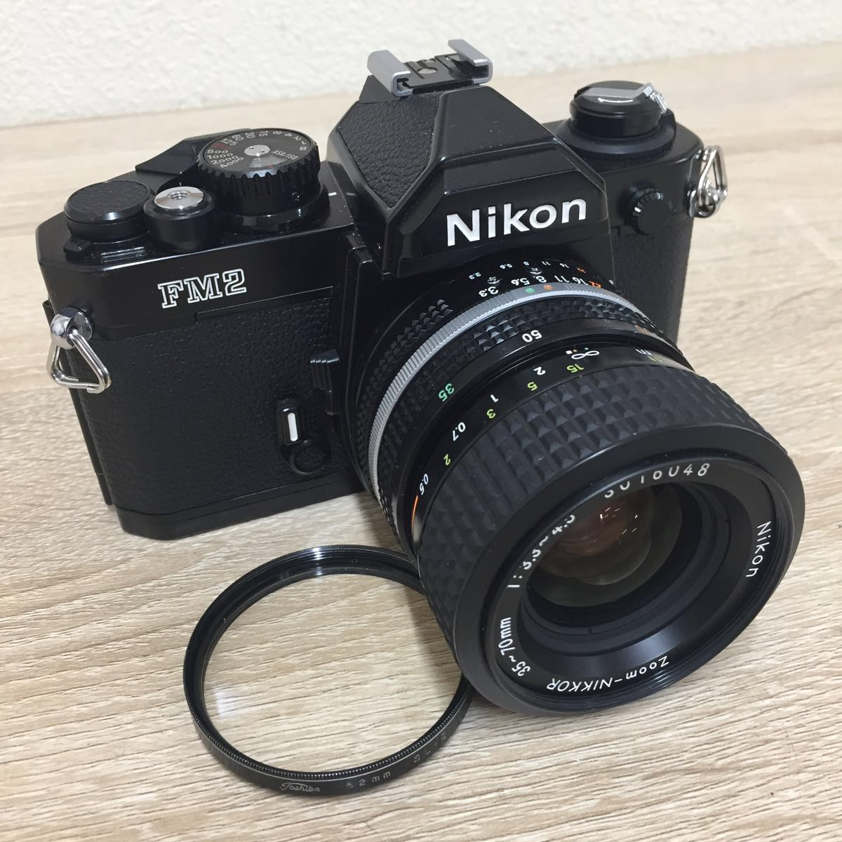カメラ ④ Nikon ニコン FM2 N 8757411 Zoom-NIKKOR 35-70mm 1:3.3-4.5