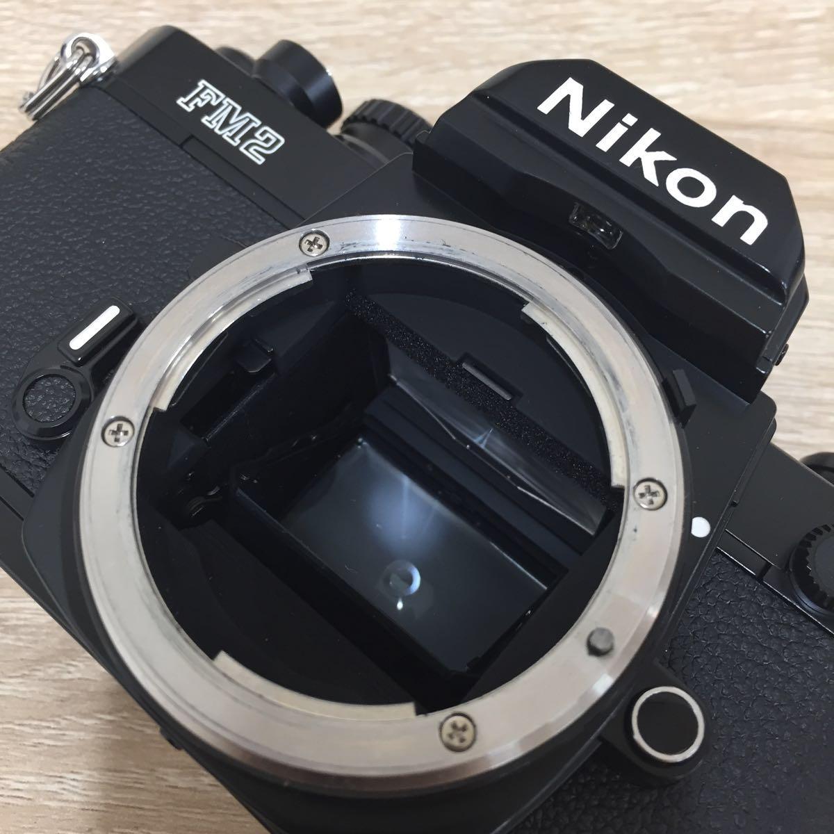 カメラ ④ Nikon ニコン FM2 N 8757411 Zoom-NIKKOR 35-70mm 1:3.3-4.5_画像4