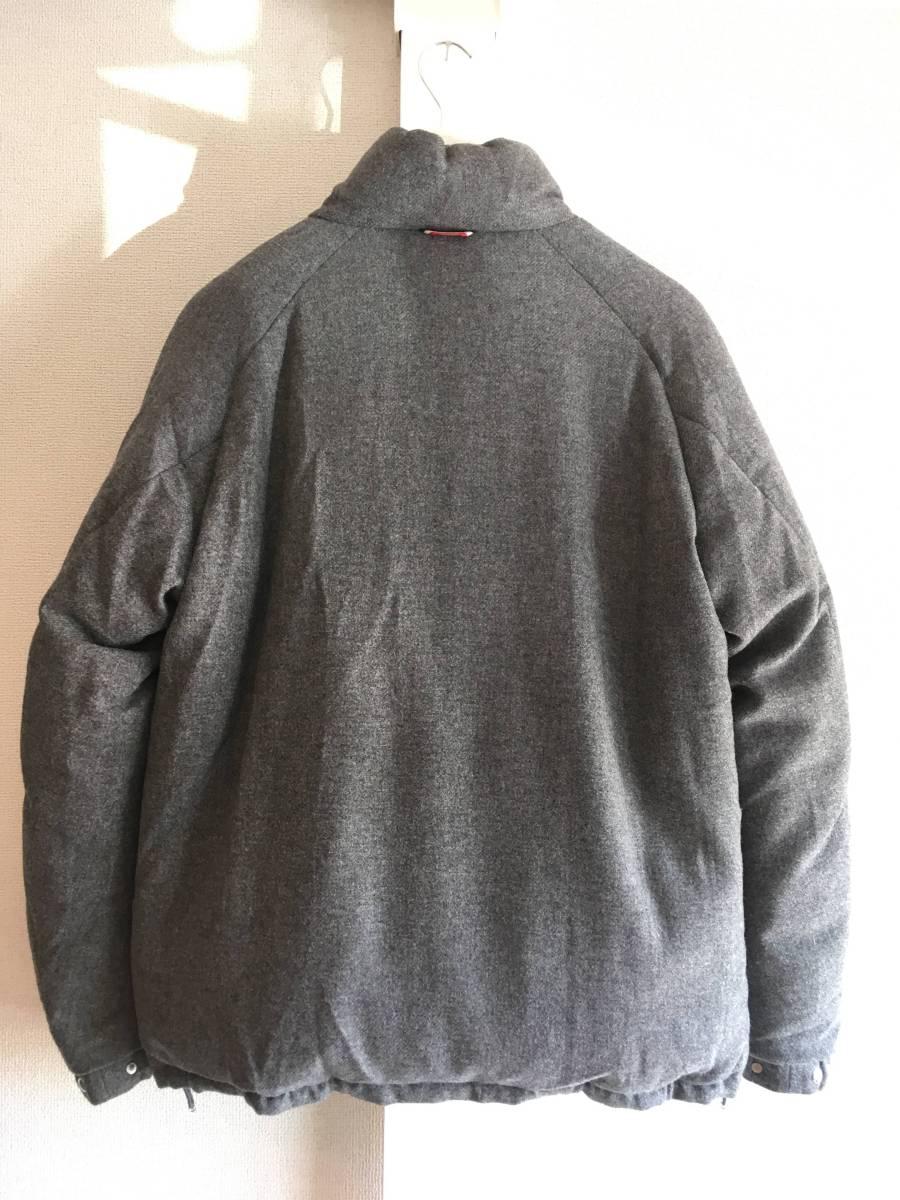 新品 本物 モンクレール ガムブルー ウール リバーシブル ダウン ジャケット コート 3 MONCLER GAMME BLEU トムブラウン モノトーン_画像4