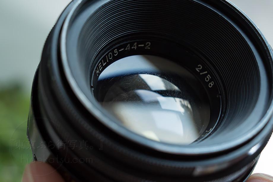 豪快なボケのヘリオス【分解清掃済み・撮影チェック済み】 Helios 44-2 58mm F2.0 M42マウントアダプタ付き!各社カメラ用あります-96h_画像4