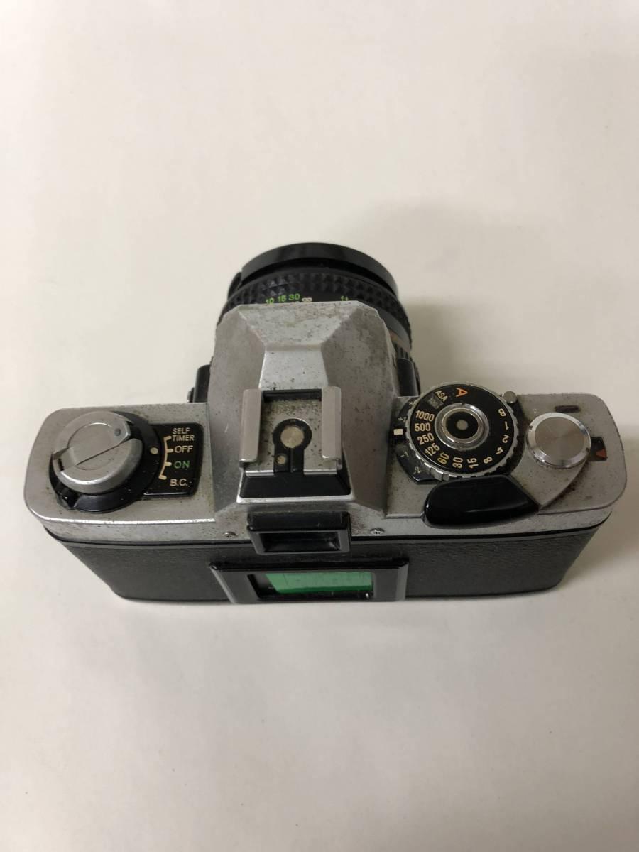 カメラ MINOLTA ミノルタ XG-S+MD ROKKOR 50mm F1.7 ジャンク bm1-26_画像3