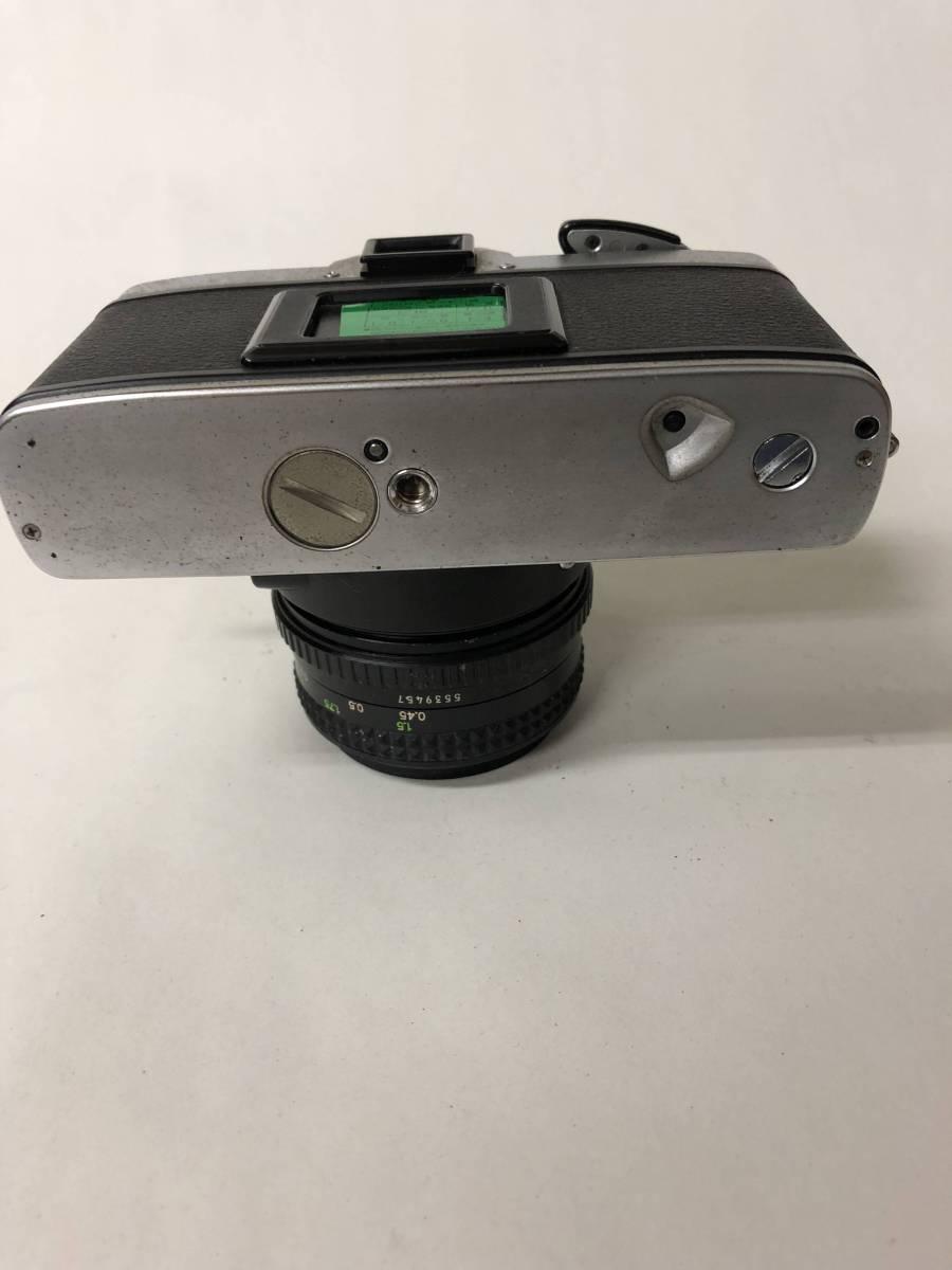 カメラ MINOLTA ミノルタ XG-S+MD ROKKOR 50mm F1.7 ジャンク bm1-26_画像6