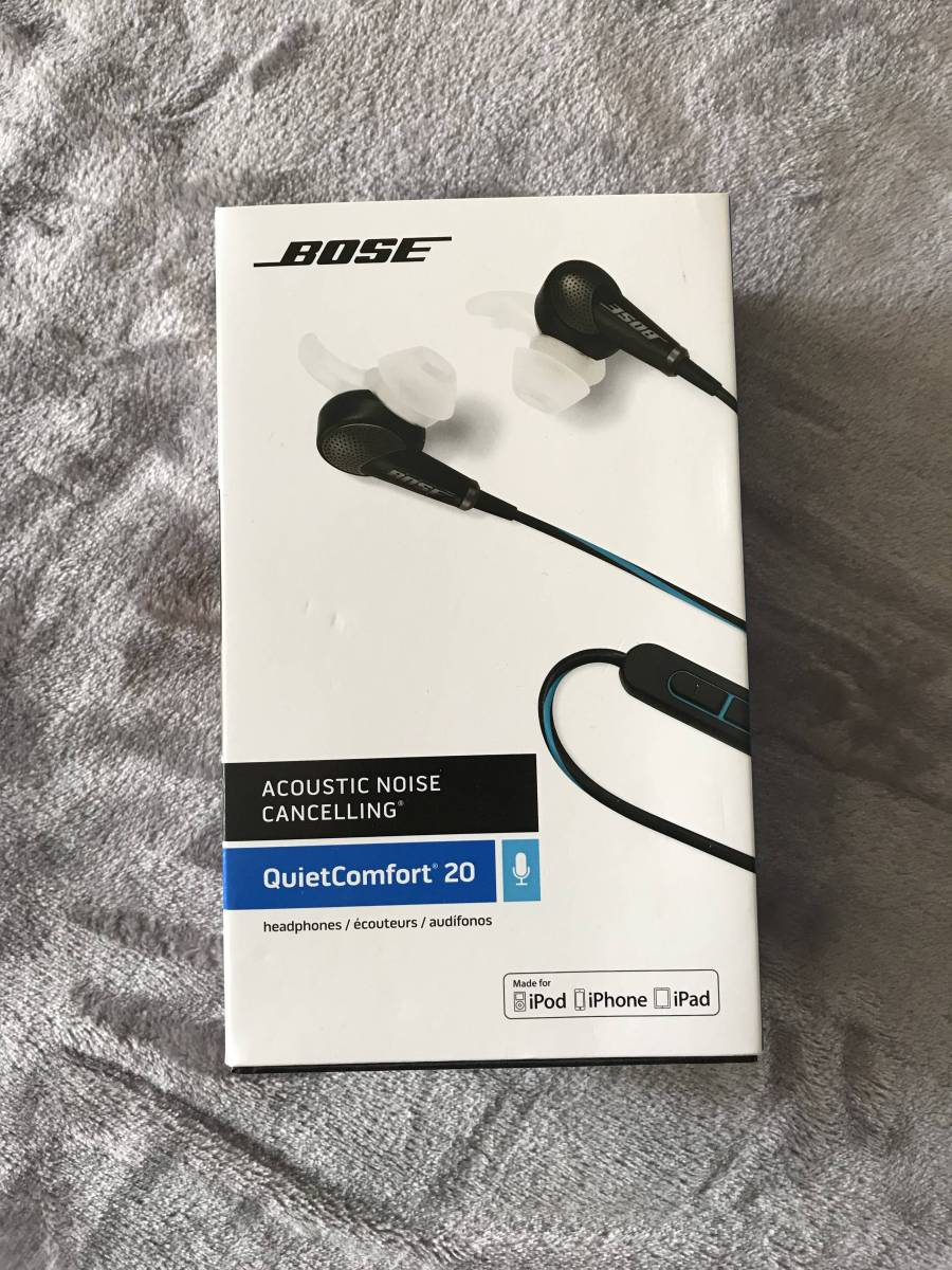 BOSE QuietComfort20 QC20i Apple製品用ノイズキャンセリング・イヤホン