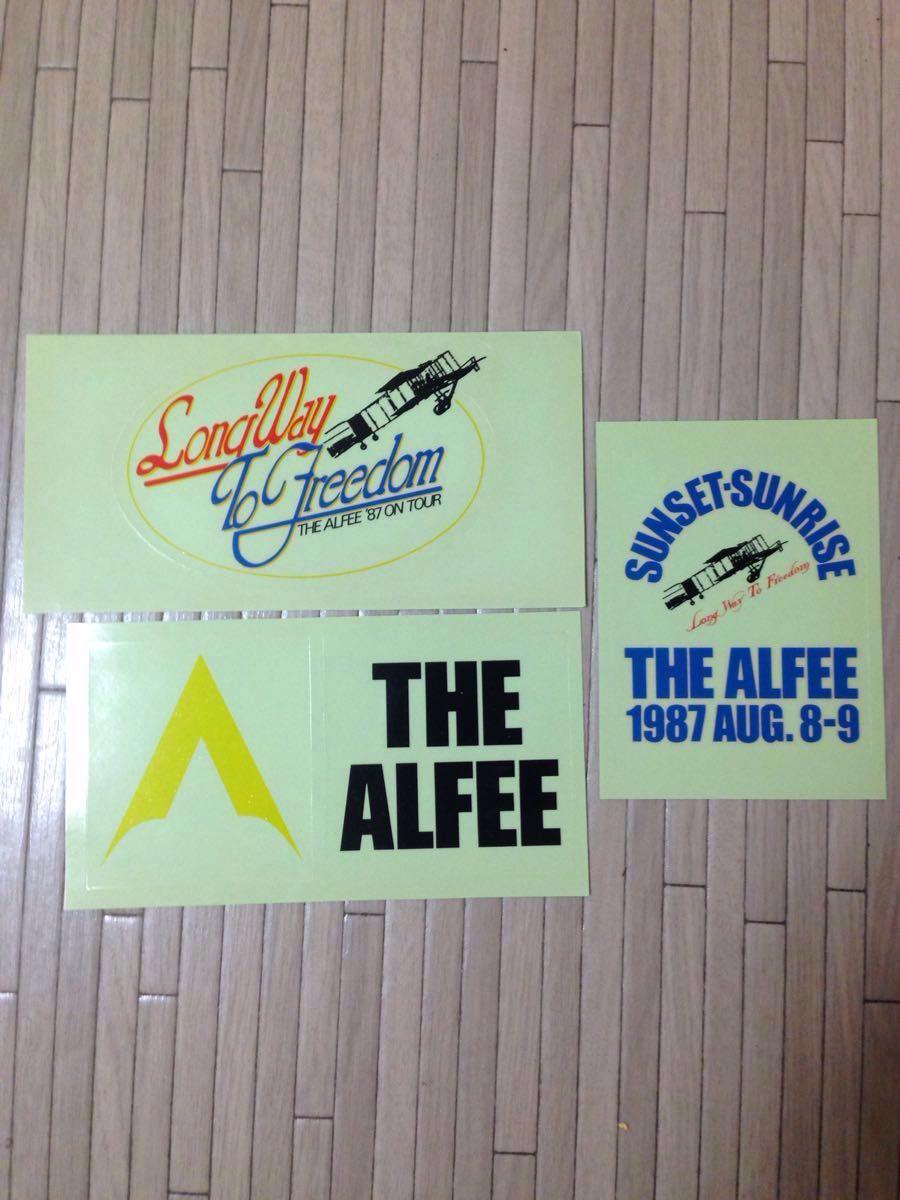 【未使用・希少・美品】THE ALFEE SUNSET-SUNRISEステッカー