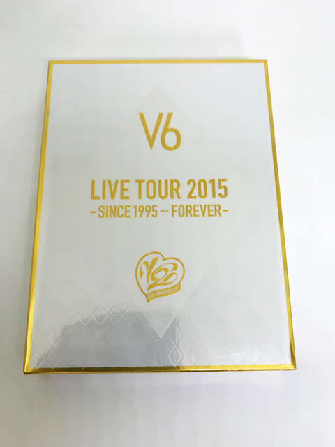 中古★V6★初回限定A「LIVE TOUR 2015 -SINCE 1995~FOREVER」 4DVD