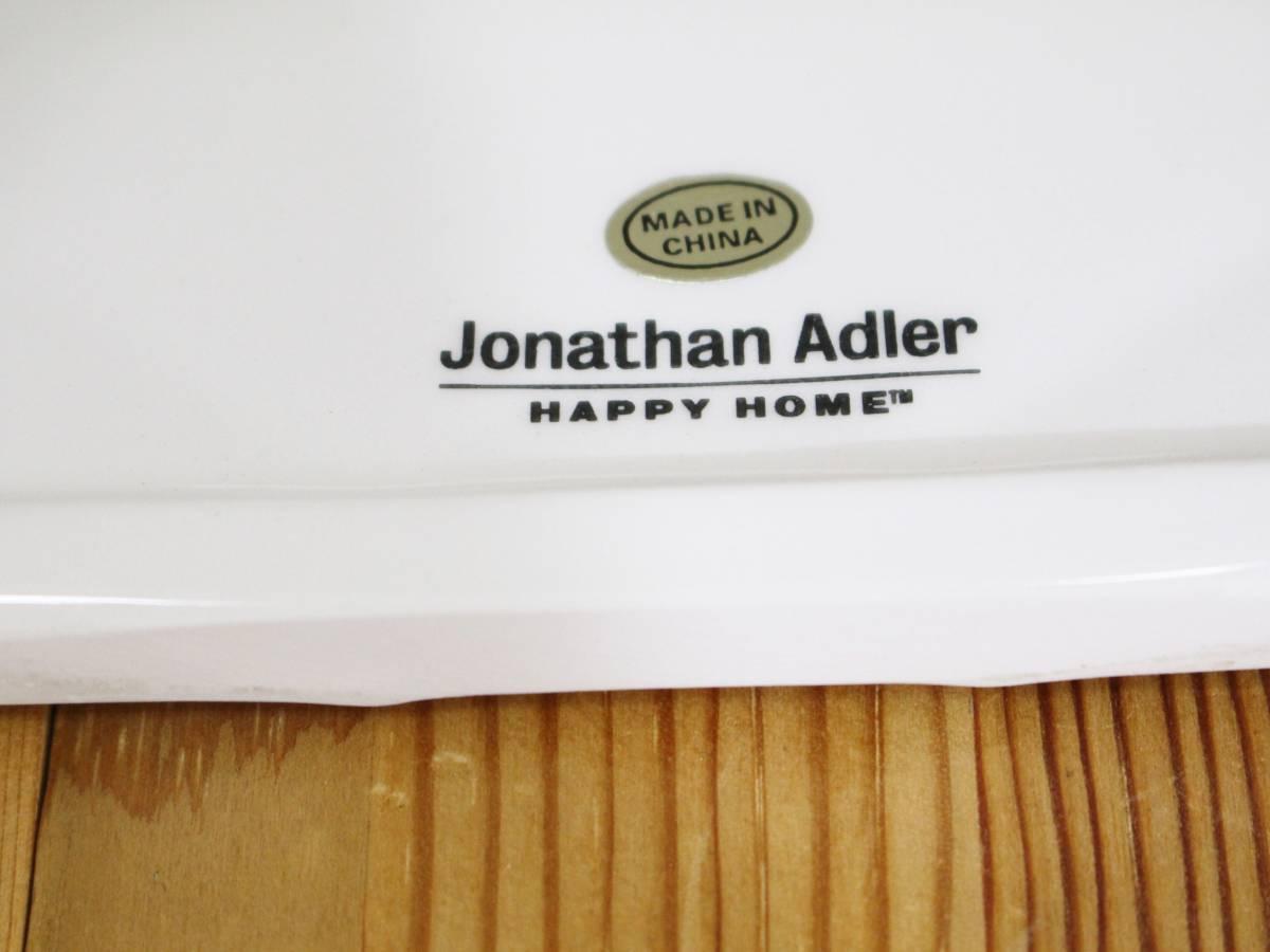 新品◆JONATHAN ADLER ジョナサンアドラー◆インテリア 雑貨 陶器 ティッシュカバー ティッシュケース ティッシュボックス(ホワイト)_画像3