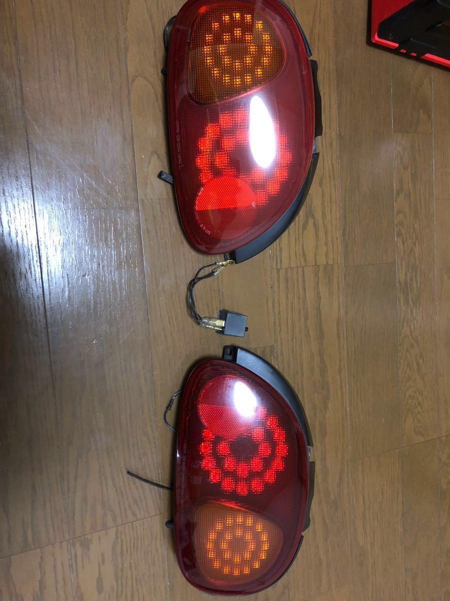 スズキ カプチーノ LED テールランプ ワンオフ
