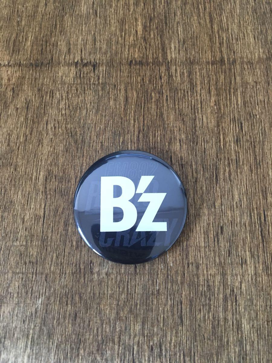 B'z レディクレ RADIO CRAZY 缶バッジ