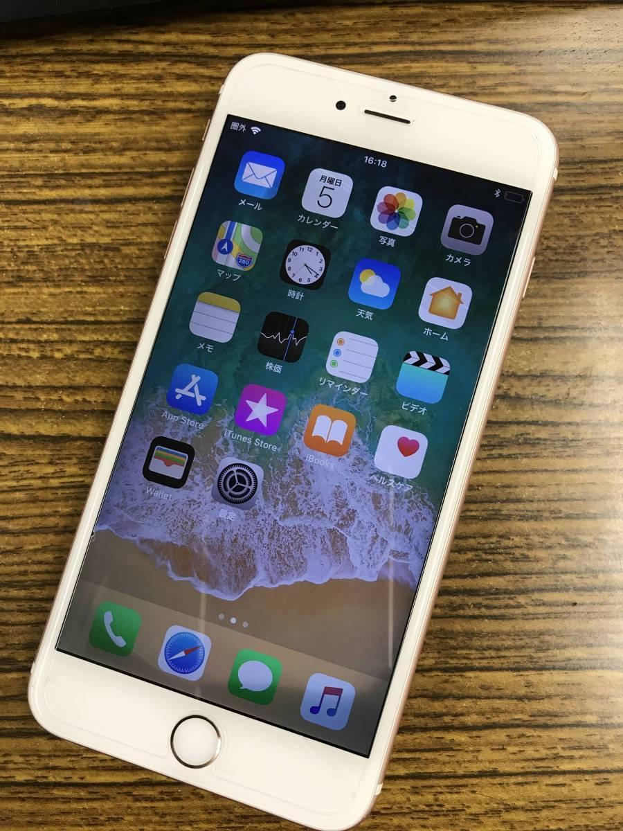 【割と美品】 iPhone6s Plus 16GB ローズ softbank〇 【ジャンク】