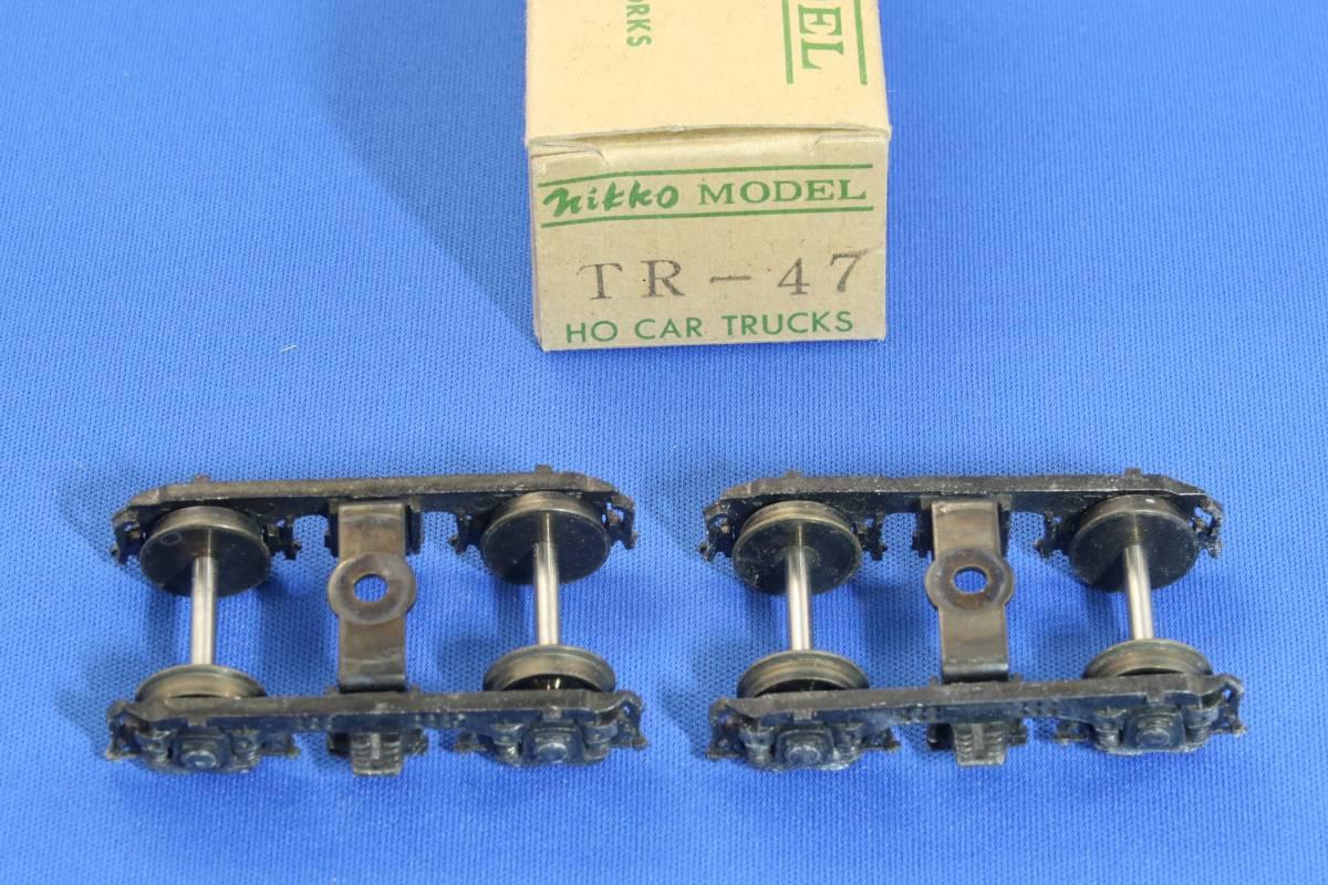 Nikko Model製 TR-47 と TR-50 各1セット 客車用台車