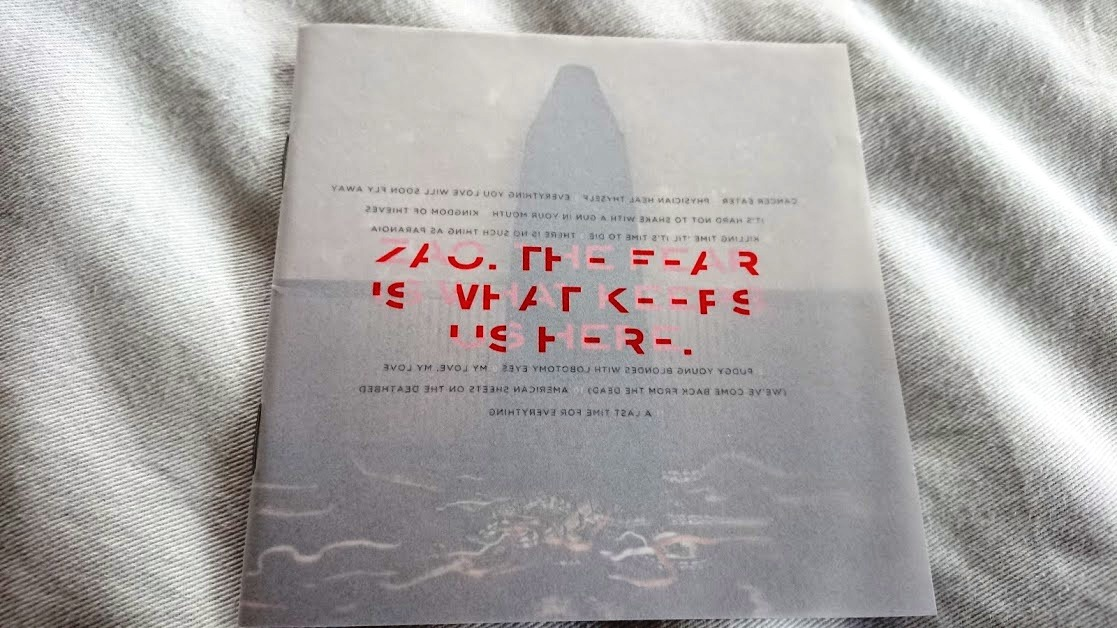 ZAO 「THE FEAR IS WHAT KEEPS US HERE」 CD/DVD初回限定盤 メタル・コア系名盤_画像1