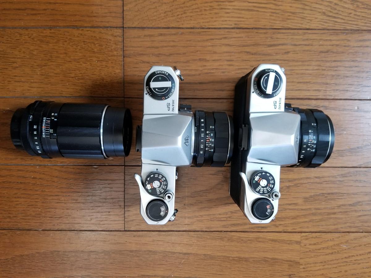 ペンタックスカメラ、レンズ付き、シャッター作動、ジャンク扱い_画像3