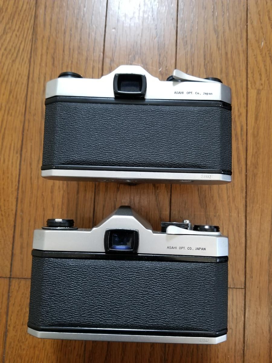 ペンタックスカメラ、レンズ付き、シャッター作動、ジャンク扱い_画像4