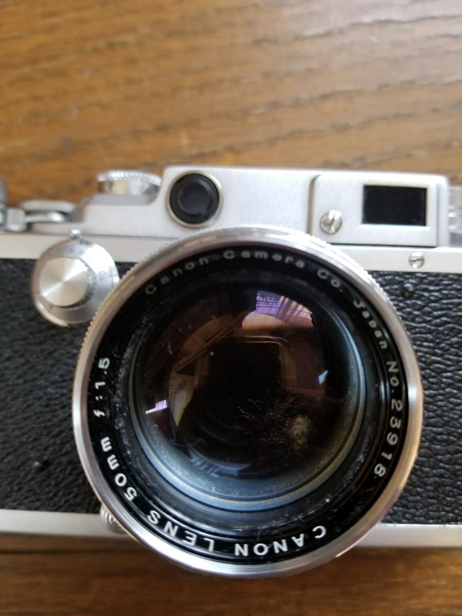 キャノンレンズ交換式カメラ、シャッター作動、ジャンク扱い_画像5