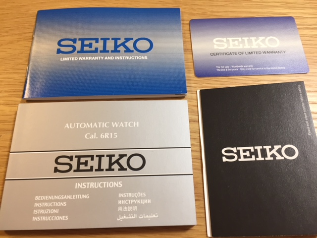 【限定】Seiko Presage セイコー プレザージュ Blue Enamel SPB069 Limited Edition SARX053 青琺瑯_画像3